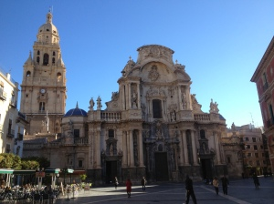 Cathedral at Mercia Spain